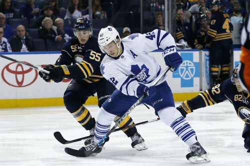 Preview: Maple Leafs at Sabres, the case of the missing defender