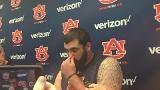 Auburn center Austin Golson discusses the first team scrimmage