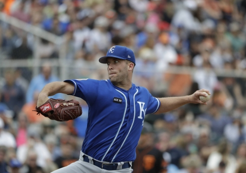 Royals name Danny Duffy opening day starter