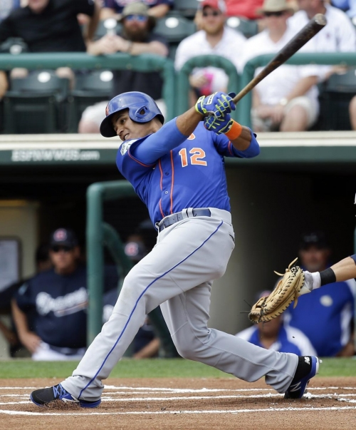 Lagares suffers oblique strain, Mets have more outfield questions