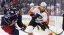 Bobrovsky terrific again as Blue Jackets beat Flyers 1-0