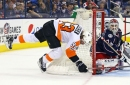Flyers vs Blue Jackets recap: Flyers lose while outplaying the opponent, again