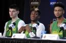 Oregon Ducks vs. Kansas Jayhawks: Elite Eight live updates