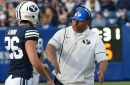 BYU football spring scrimmage: Defense, tight ends stand out for Cougars