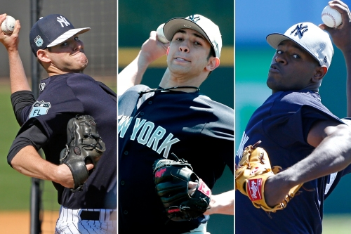 Yankees' future hinges on lottery tickets forming a new rotation