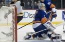 Nash, Khudobin help Bruins snap 4-game skid, beat Islanders (Mar 25, 2017)