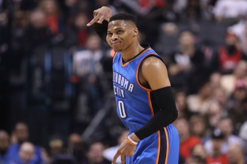 Russell Westbrook feels like he made it after Kendrick Lamar rapped about him