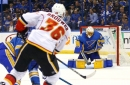 Calgary Flames Battle Hard to Down Blues in OT