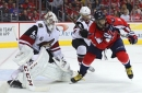 Arizona Coyotes outclassed by Washington Capitals in defeat