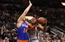 Spurs 106, Knicks 98: Scenes from a magnificent third quarter from Willy Hernangomez