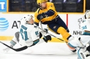 Quick Bite: Predators push the pace, Sharks can't keep up