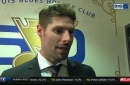 Troy Brouwer: 'I absolutely loved my time' in St. Louis
