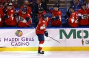 Marchessault nets three in Panthers 7-0 rout of Blackhawks