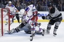 Raanta and the Rangers Shut Out Kings, 3-0