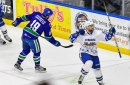 Crunch score five unanswered goals to defeat Comets on home ice