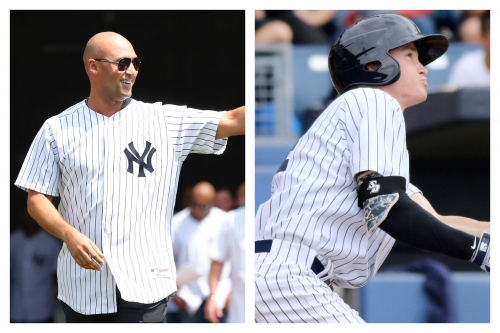 How Derek Jeter meeting influenced Yankees prospect Kyle Holder