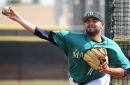 Mariners cut four pitchers, including Chris Heston and Cody Martin