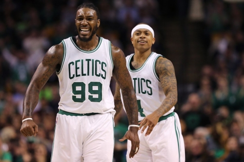 Celtics 'tied' for top spot after winning 112-108 against Miami