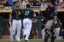 Losing streak hits five as Brewers fall to Athletics 11-1