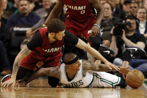 Celtics edge Heat, 112-108
