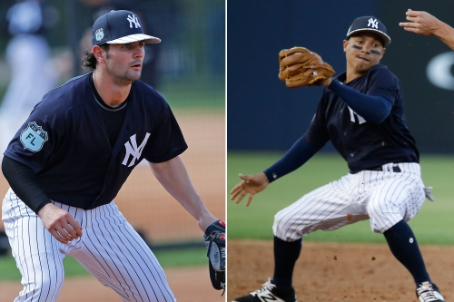 How Yankees' shortstop juggle can end with one being waived