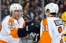 Flyers at Penguins recap: Flyers roll over shorthanded Pens in rout