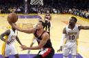 Portland Trail Blazers crush Los Angeles Lakers, move into tie for No. 8 seed: Rapid reaction