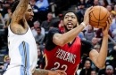 Minus Cousins, Pelicans top Nuggets 115-90 behind Davis' 31