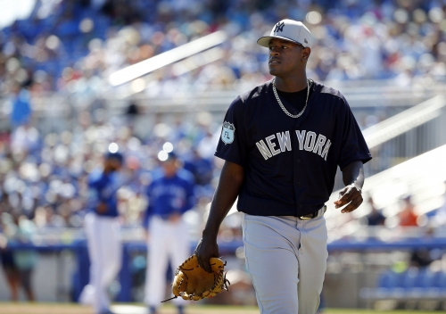 WATCH: Here's how bad Yankees' rotation battle has been