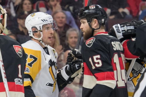 Sidney Crosby is playing on the edge, but is failed by the NHL