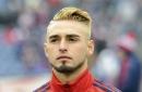 Fagundez debuts new haircut