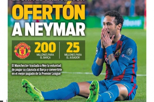 Manchester United target Neymar transfer in £173m deal and more rumours