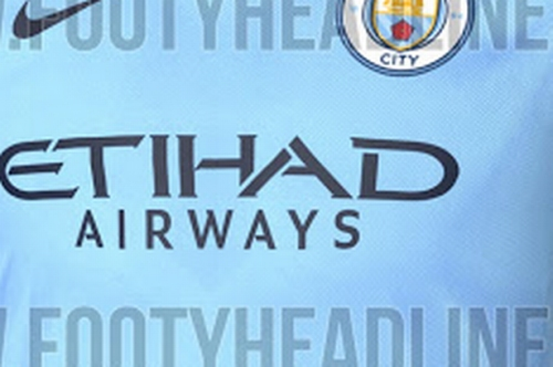 Man City shirt for next season 'revealed'