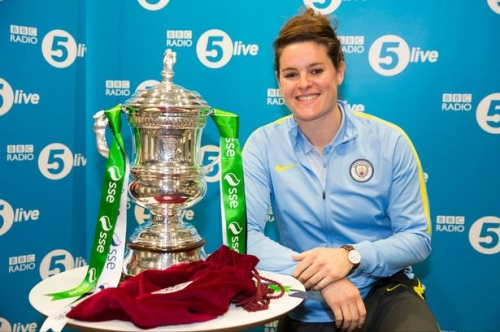 Man City Women target FA Cup success as they are drawn against Liverpool in the semi-finals