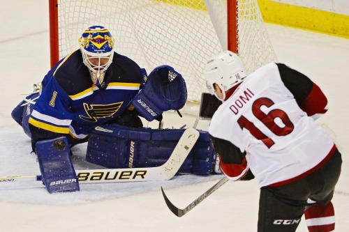 Arizona Coyotes and the St Louis Blues face each other in round two