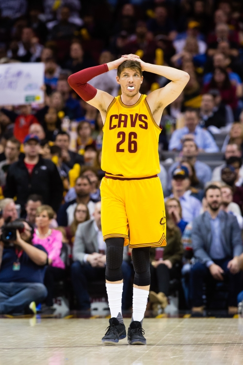 Cavs forward Kyle Korver out again with foot injury The Associated Press