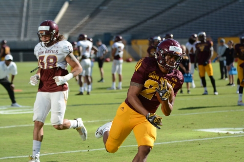 VIDEO: Highlights from the Sun Devils' seventh spring practice