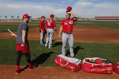Spring Training 2017 Game 34: Reds at Giants
