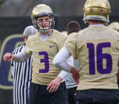 Huskies planning a 'gradual buildup' for Jake Browning's workload this spring