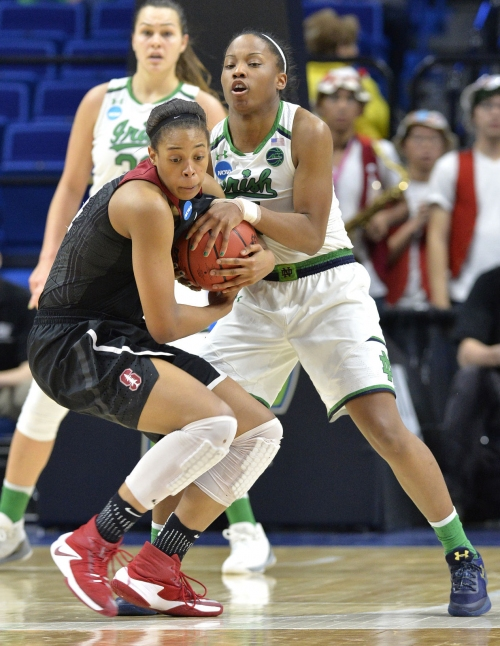 Lesar: Losing game, Lindsay Allen emotional for Notre Dame coach Muffet McGraw