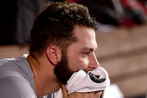 Giants score 10 against Cody Reed, thump Reds 14-2