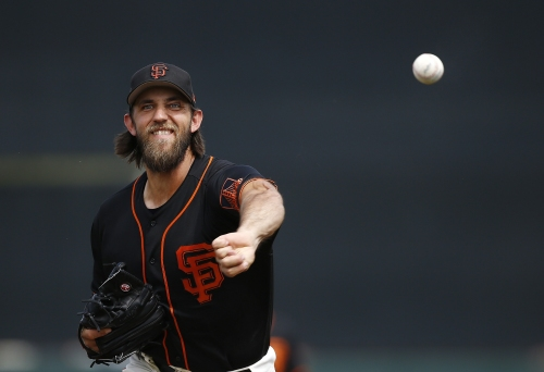 "Madison Bumgarner ""as ready as I can be"" heading into Giants' season opener"