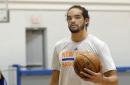 The Knicks are hectically rushing Joakim Noah 'back'