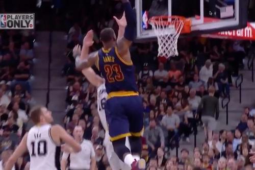 Watch: LeBron James dunks on Pau Gasol