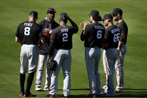 Giants notes: A big change as Bruce Bochy's lineup takes shape, etc.