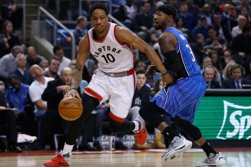 DeRozan scores 36, Raptors top Magic 131-112 for 6th in row The Associated Press