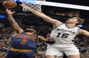 Spurs 103, Cavaliers 74: With 3-point attack failing and defense lacking, Cavs lose lead in Eastern Conference