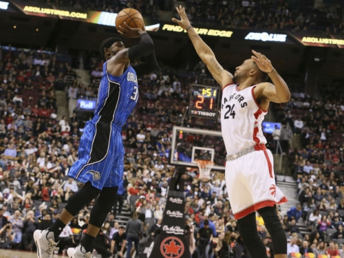 Toronto Raptors make it six straight wins and spoil return of T-Ross to Toronto with 131-112 rout of Orlando Magic at ACC
