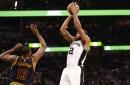 San Antonio vs. Cleveland, Final Score: Spurs smother Cavaliers, 103-74