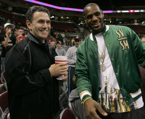 LeBron James supports 'everything' Keith Dambrot does, including leaving Akron for Duquesne
